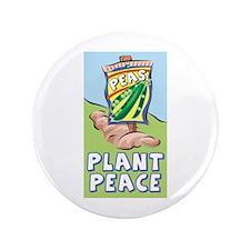 """Plant Peace 3.5"""" Button"""