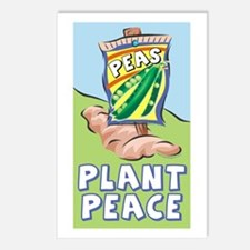 Plant Peace Postcards (Package of 8)