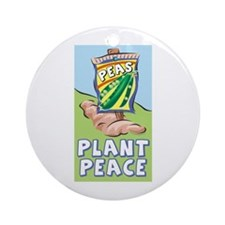 Plant Peace Ornament (Round)