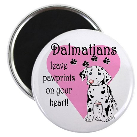 Dalmatian Pawprints Magnet