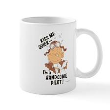 Kiss me ... I'm a HANDSOME PI Mug