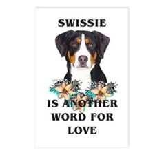 Swiss Mountain Dog Postcards (Package of 8)