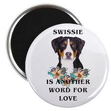 Swiss Mountain Dog Magnet