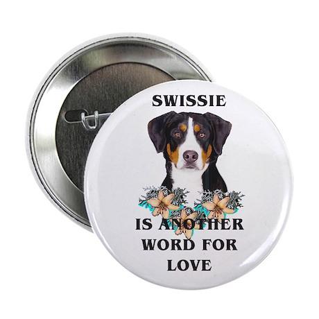 Swiss Mountain Dog Button