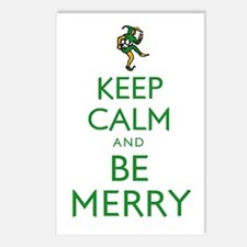 Keep Calm and Be Merry Postcards (Package of 8)