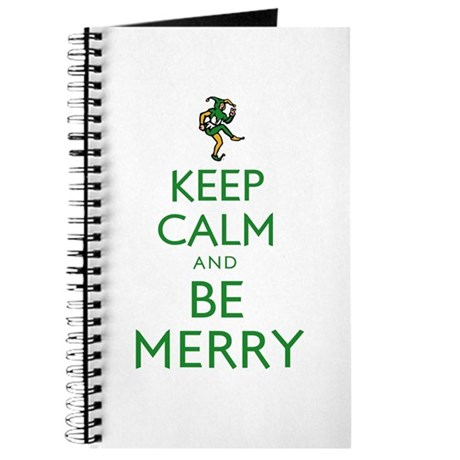 Keep Calm and Be Merry Journal