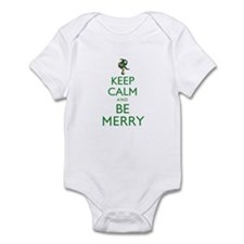 Keep Calm and Be Merry Infant Bodysuit
