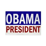 Obama: President! (Rectangle Magnet)