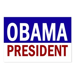 Obama: President! Postcards (Package of 8)
