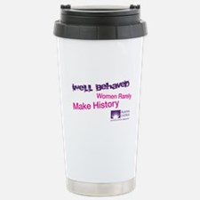 Well Behaved Women Stainless Steel Travel Mug