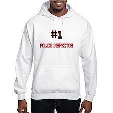 Number 1 POLICE INSPECTOR Jumper Hoody