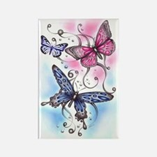 Butterfly Dreams Rectangle Magnet