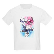 Butterfly Dreams Kids T-Shirt