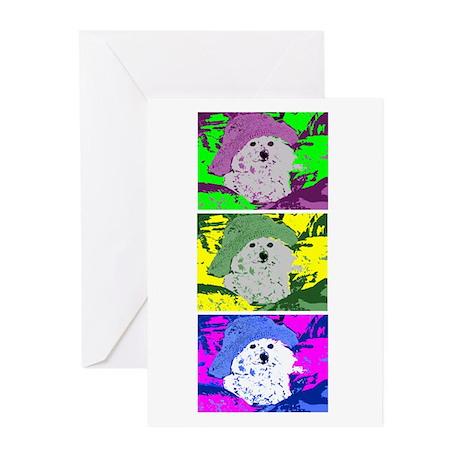 Bichon Frise Greeting Cards (Pk of 10)