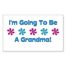 To Be A Grandma Rectangle Decal
