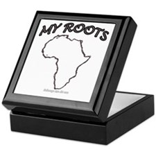 Cute Africa Keepsake Box