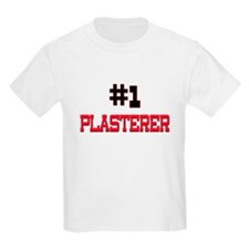 Number 1 PLASTERER T-Shirt