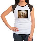 Apricot poodle Women's Cap Sleeve T-Shirt