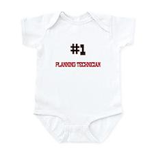 Number 1 PLANNING TECHNICIAN Infant Bodysuit