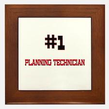 Number 1 PLANNING TECHNICIAN Framed Tile