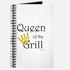 Queen of the Grill (yellow pepper crown) Notepad