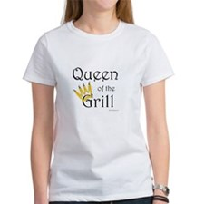 Queen of the Grill (pepper crown) Tee
