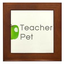 Teacher's Pet Framed Tile
