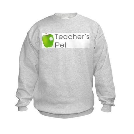 Teacher's Pet Kids Sweatshirt