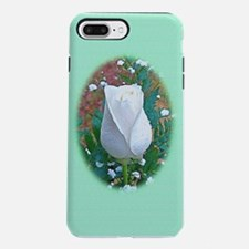 White Rose Flower Itouch2 iPhone 7 Plus Tough Case