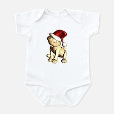 Santa Pup Infant Creeper