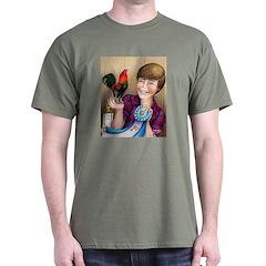 Best Bantam Rooster Black T-Shirt