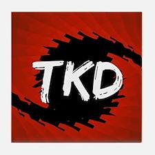 TKD Hurricane Tile Coaster