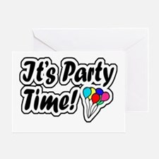 'It's Party Time!' Greeting Card