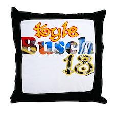Kyle Busch Throw Pillow