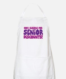 ELIGIBLE FOR SENIOR DISCOUNTS! BBQ Apron
