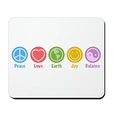 Universal Symbols Mousepad
