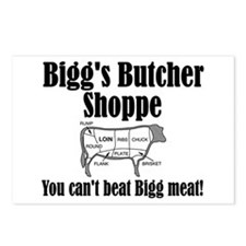 Bigg's Butcher Shop Postcards (Package of 8)