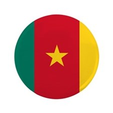 """Flag of Cameroon 3.5"""" Button"""