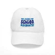 ELIGIBLE FOR SENIOR DISCOUNTS! Baseball Cap