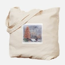 Christmas in the City Tote Bag