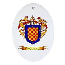 Cabeza De Baca Oval Ornament