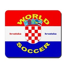Croatia World Cup Soccer Mousepad