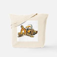 Back Hoe Tote Bag