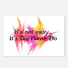 It's Not Easy - TKD Postcards (Package of 8)
