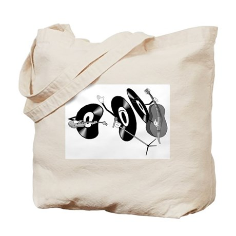 Rocking Records Tote Bag
