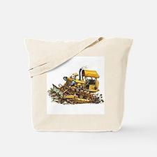 Bull Dozer Tote Bag