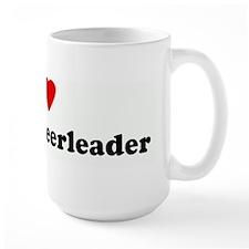 I Love my hot cheerleader Mug