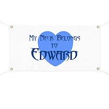 Cute I heart edward Banner