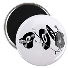 "Rocking Records 2.25"" Magnet (100 pack)"