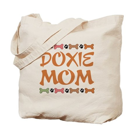 Cute Doxie Dachshund Mom Tote Bag